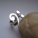 Egyedi ezüst basszuskulcs gyűrű (egszeresz) - Meska.hu