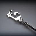 Egyedi monogramos ezüst kanál, Férfiaknak, A honlapomon már régóta megtalálhatók az általam készített egyedi monogramos ezüst kanalak.  Most fe..., Meska