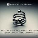 Rugós bogyós gyűrű, Ékszer, Gyűrű, Ezt az ezüst gyűrűt vastag, tömör 925-ös ezüst drótból készítettem. Olvasztottam két ezüstbogyót és ..., Meska