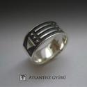 Atlantisz ezüst gyűrű