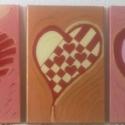 A szív szava - színhangulat képek, Otthon, lakberendezés, Képzőművészet, Festmény, Akril, Festészet,  3 részből álló ,vakkereten lévő, eredeti vászonra metál akrillal festve. Különleges fénylő,néhol e..., Meska