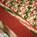 Tini lélek és testmelegítő, Ruha, divat, cipő, Gyerekruha, Kamasz (10-14 év), Színátmenetes Red Heart Soft fonalból készült ez a különleges tini mellény. Nemcsak a színei gyönyör..., Meska
