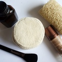 Mosható arctisztító, sminklemosó korong/ párna bio pamutból, Szépségápolás, Szappan, tisztálkodószer, Egészségmegőrzés, Varrás, Praktikus és ökomegoldás az arctisztítás terén használható bio pamutból készült korongok, melyek ak..., Meska