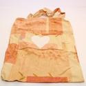 Vidám színű  öko szatyor, Táska, Szatyor, Varrás, Pamutvászonból készült, összecsukható szatyor.  Mérete: 40 cm x 30 cm  , Meska
