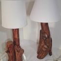 Lámpák párban, Dekoráció, Otthon, lakberendezés, Lámpa, Asztali lámpa, Ezek  az asztali lámpák párban vásárolhatók meg. /pl. hálószobába az ágy két oldalára/. ..., Meska