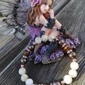 Préselt kagyló-kagyló-tigrisvas-rosegold hematit ásványos karkötő, Ékszer, Karkötő, Préselt kagyló, zöldes barnás kagylógyöngyökkel,tigrisvas ásványgyöngyökkel és apró rosegold színű h..., Meska