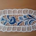 kalocsai teritő10x25cm, Képzőművészet, Otthon, lakberendezés, Textil, Lakástextil, riselős terítő 10x25cm, Meska
