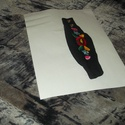 csukló pénztárca, Képzőművészet, Ékszer, Magyar motívumokkal, Karkötő, cipzáros csukló pénztárca 7cm széles hossza tobb méretben kérhető, Meska