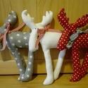 Rudolf, a rénszarvas, Dekoráció, Ünnepi dekoráció, Karácsonyi, adventi apróságok, Karácsonyi dekoráció, Lassan itt van Advent és a karácsonyi készülődés ideje. Kedves kiegészítője lehet lakásnak,gyerekszo..., Meska