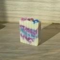 Mandulaolajos levendulaszappan, Szépségápolás, Mindenmás, Szappan, tisztálkodószer, Natúrszappan, Nyugalmat sugárzó, kényeztető, szemet gyönyörködtető szappan. Csupa olyan összetevő, ami a legtöbbün..., Meska
