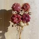 Szappanvirágok, Szépségápolás, Mindenmás, Szappan, tisztálkodószer, Natúrszappan, Illatos virágcsokor szappanból, amit kedved szerint válogathatsz össze. Az alábbi típusokból választ..., Meska