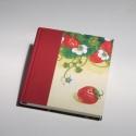 'Eperillat'. Könyv, napló, emlékkönyv, receptgyűjtő könyv üres lapokkal, Naptár, képeslap, album, Baba-mama-gyerek, Jegyzetfüzet, napló, Könyvkötés, Papírművészet, Ez a könyv üres lapokkal készült: naplóként, emlékkönyvként, de akár receptgyűjtőként is használhat..., Meska