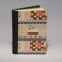Epres-pöttyös napló lenvászon borítóval, Naptár, képeslap, album, Jegyzetfüzet, napló, Lenvászon borítós napló 14 x 20 cm-es méretben. A megadott ár a simalapos változatra vonatkoz..., Meska