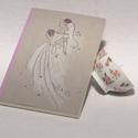 Esküvői vendégkönyv, könyv esküvőre, esküvői emlék, nászajándék, kézzel rajzolt borító, egyedi névvel, Naptár, képeslap, album, Esküvő, Nászajándék, Esküvői vendégkönyv, könyv esküvőre, esküvői emlék vagy nászajándék, egyedi nevekkel rendelhető,  te..., Meska