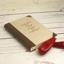 Múltidéző receptgyűjtő könyv, kitölthető recepteskönyv, régies, vintage ajándék ínyenceknek, névreszóló, egyedi címmel, Múltidéző receptgyűjtő könyv, kitölthető r...