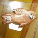 Kulcsos Bicska -  állat forma, Mindenmás, Férfiaknak, Kulcstartó, Egyedi kézzel készült kulcstartó melyen mindig ugyanott vannak a kulcsok és kis helyet foglalnak el...., Meska