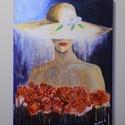 Zuhatag , Képzőművészet, Festmény, Akril, Festészet, 30x40 cm-es akril festmény, feszített vászonra készítve. Ajánlom ezt a képet azoknak, akik szeretik..., Meska