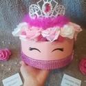 Princess hercegnő rózsabox virágdoboz dekoráció, Otthon & Lakás, Dekoráció, Csokor & Virágdísz, Virágkötés, Neked is van egy hercegnőd, akit meglepnél vele? Egyedi rózsabox készült, nemcsak királylányoknak. ..., Meska