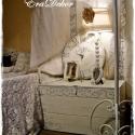 Vintage fehér tároló láda,  Névre szóló ajándék, örök emlék és haszn...