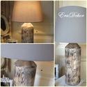Rusztikus fa lámpa -AZONNAL ELVIHETŐ, Újrahasznosított fából készült, rusztikus as...