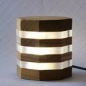 zLamp2 LED-es hangulatlámpa, Otthon, lakberendezés, Lámpa, Hangulatlámpa, Famegmunkálás, Minőségi keményfa (akác és kőris) valamint plexi felhasználásával készült. A fényt 1W-os fehér szín..., Meska