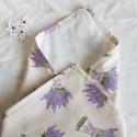 Újraszalvéta - Levendulás, ZeroWaste, NoWaste, Textilek, Kendő, Textil tároló, Újra és újra használható szalvéta egyszerű alternatívája a szalvétáknak, alufóliáknak, csomagolóanya..., Meska