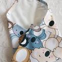 Újraszalvéta - Koalamacik, ZeroWaste, NoWaste, Textilek, Kendő, Textil tároló, Újra és újra használható szalvéta egyszerű alternatívája a szalvétáknak, alufóliáknak, csomagolóanya..., Meska