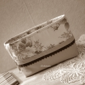 TÁSKARENDEZŐ - Drapp és virágmintás ,  Táskarendező azoknak, akik szeretik a táskáju...