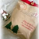 Mikulászsák -Ajándékzsák -  RENDELHETŐ, Otthon & lakás, NoWaste, Dekoráció, Ünnepi dekoráció, Karácsonyi, adventi apróságok, Ajándékzsák, Karácsonyi dekoráció, Textilek, Textil tároló,  JELENLEG NINCS KÉSZLETEN EZ A TERMÉK, MEGRENDELÉSRE KÉSZÍTEM NEKED.   Kislánynak, kisfiúnak, vagy é..., Meska