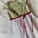 NINCS POSTAKOLTSEG - Virágos kert- kislány ruha, Gyerek & játék, Táska, Divat & Szépség, Ruha, divat, Gyerekruha,    Gyönyörű, színes tavaszi-nyári ruhácskát készítettem kicsiknek. Hogy még színesebb legyen, ezért ..., Meska