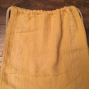 hátizsák, Táska, Hátizsák, Válltáska, oldaltáska, Egyedi, tiszta pamut , hímzett mintával szőtt alapanyagú hátizsák, tornazsák. Natur-sárga színű besz..., Meska