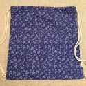 kékfestő hátizsák, Táska, Hátizsák, Válltáska, oldaltáska, Kékfestő minta az elején, szürke vászon a hátulja, mindennapi használatra alkalmas hátizsák.   Posta..., Meska