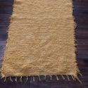 sárga színű, puha, vastag szőnyeg, pappnora 90 névre megrendelésre készült pamut ...