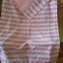 Pink Lady wellness/ strandszőnyeg és törölköző egyben, Otthon, lakberendezés, Lakástextil, Varrás, Divatos és egyedi. Jó választás egy pihentető wellnesshez vagy nyári napozáshoz!  Egyik oldala bőrb..., Meska