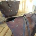 Inda tote  vászontáska, Táska, Válltáska, oldaltáska, Varrás, Bélelt, vállra akasztható táska belső zsebbel és mágneses zárópánttal.  Méret: 24X40 cm Anyaga: Hím..., Meska