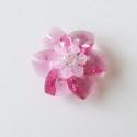 rózsa medál swarovski kristályból (Esthi) - Meska.hu