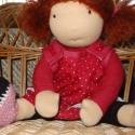 Pöttyös Panni babája, Mikor elkészültem ezzel a babával és leányká...