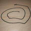 Antik bronz lánc, Ékszer, Nyaklánc, Antik bronz színű lánc. Mérete kérés szerint változhat 40-60cm között., Meska