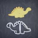 Stegosaurus dínó keksz, sütemény kiszúró forma, Otthon & lakás, Egyéb, Konyhafelszerelés, 3D nyomtatással készült stegosaurus-os (dínós) kekszkiszúró. Legnagyobb mérete kb 6cm. Személyes átv..., Meska