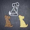 Kutyás (dalmata) keksz, sütemény kiszúró forma, Otthon & lakás, Egyéb, Konyhafelszerelés, 3D nyomtatással készült kutyás (dalmata jellegű)  kekszkiszúró. Legnagyobb mérete kb. 6 cm.  Személy..., Meska