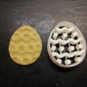 Húsvéti (hímes tojás) keksz, süti. sütemény kiszúró forma, Otthon & lakás, Egyéb, Konyhafelszerelés, Dekoráció, 3D nyomtatással készült húsvéti (hímes tojás) kekszkiszúró. Legnagyobb mérete kb. 6 cm.  Személyes á..., Meska