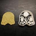 Húsvéti (nyuszipopós) kekszkiszúró, Konyhafelszerelés, Mindenmás, Húsvéti díszek, Mézeskalácssütés, Mindenmás, 3D nyomtatással készült húsvéti (nyuszipopós) kekszkiszúró. Legnagyobb mérete kb. 6 cm.  Személyes ..., Meska