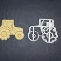 Traktor keksz, sütemény kiszúró forma, Otthon & lakás, Egyéb, Konyhafelszerelés, 3D nyomtatással készült traktoros kekszkiszúró. Legnagyobb mérete kb 7 cm. Személyes átvétel Martonv..., Meska