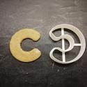 ABC-s (C) kekszkiszúró, Otthon & lakás, Egyéb, Konyhafelszerelés, 3D nyomtatással készült ABC-s (C)  kiszúró kekszhez, mézeskalácshoz, fondanthoz.   6 és 8 cm-es mére..., Meska