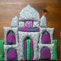 Tádzs Mahal-textilkirakó gyerekeknek, Játék, Baba-mama-gyerek, Készségfejlesztő játék,  Ez a kirakó az indiai Tádzs Mahal templomot ábrázolja, a szerelem és az anyaság mauzóleumát.  A kir..., Meska