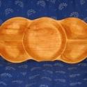 Faragott fa pecsenyés tálaló, Konyhafelszerelés, Natúr fűzből ,kézi kimunkálással készül 60-80x25-30 méretekben. Kiváló tisztíthatóság..., Meska