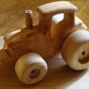 Fa verdák Megatraktor, Baba-mama-gyerek, Játék, Gyerekszoba, Fajáték, Famegmunkálás, A népszerű fa verdák kollekciónk markánsabb, méretes darabja.   A kontrukció vastagabb 35mm éger, j..., Meska