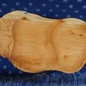 Hortobágyi csikós fa tálaló, Férfiaknak, Faragott magyaros állatos kollekciónk egyik míves darabja natúr fűzből. Elsősorban magyaros s..., Meska