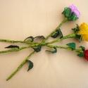 Gyöngy rózsa, gyöngy virág, anyák napja, ballagás, ajándék nőknek, Dekoráció, Otthon, lakberendezés, Mindenmás, Ékszer, óra, Gyöngyfűzés, Csodaszép, gyöngyből készült rózsák.  Anyák napjára, egyéb jeles alkalomra hölgyeknek.  Apró, 2 mm-..., Meska