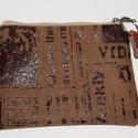 Pénztárca , Táska, Pénztárca, tok, tárca, Pénztárca, Erszény, Különleges bőr hatású erős bútorszövetből készült pénztárca . A pénztárca mérete : 13*9,5 cm . Oldal..., Meska